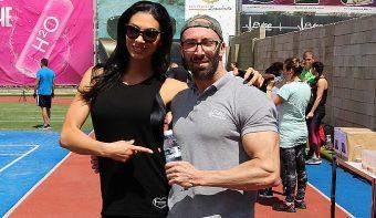 Биляна Йотовска, Ники Илиев и Дидо Мачев участваха в благотворителния маратон на Pulse Fitness West Park