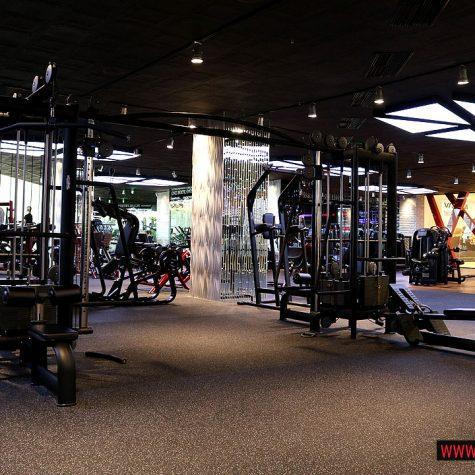 Част от фитнес залата в Sofia Ring Mall