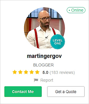 Фитнес треньор и блогър