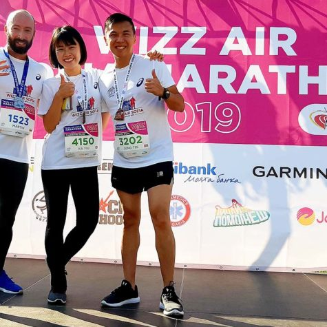Wizz Air Marathon Sofia 2019 / с участници от Хонг Конг