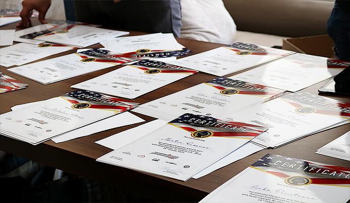 сертификати от Advanced Supplement training семинар на сила бг